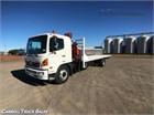 2008 Hino 500 Series 1527 XLong Crane Truck