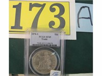 Tuesday May 1st Antique, Guns, Coins, Jewelry & Collectables