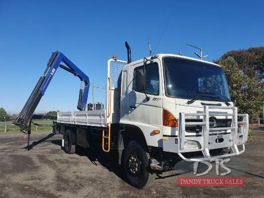 2004 Hino GT 4x4 Dandy Truck Sales  - Trucks for Sale