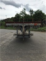 2000 W&W 8 ton 18ft x 8ft T/A Equipment Trailer-