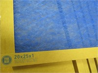 (12) Air Filters - Size 20 x 25 x 1