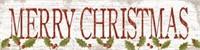 KATHY MIDDLEBROOK MERRY CHRISTMAS ART DÉCOR