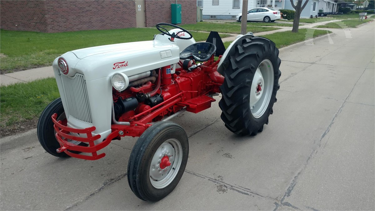 Auctiontime Com 1953 Ford Naa Online Auctions