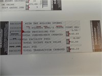 2 TICKETS FOR CANADA ROCKS WITH THE ROLLING STONES
