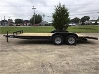2018 North Shore 18' Flatbed Car Trailer-