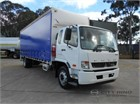 2013 Fuso Fighter 1627 Tautliner / Curtainsider