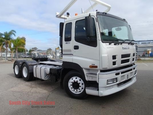2012 Isuzu Giga CXZ 455 Premium South City Truck Sales - Trucks for Sale