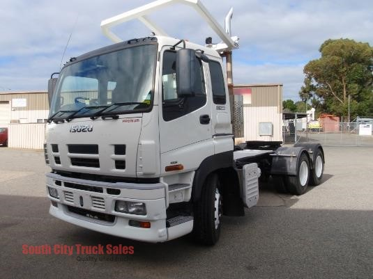 2012 Isuzu Giga CXZ 455 Premium South City Truck Sales - Trucks for Sale