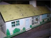 Tin dollhouse