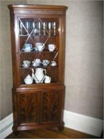 Williams-Kimp Furniture Co. corner cabinet