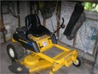 """Cub Cadet zero-turn mower (22hp 50"""" cut)"""