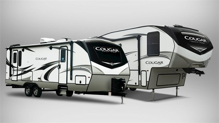 Keystone Rv Company Unveils 2020 Cougar Travel Trailer Lineup Including Newly Designed Exterior Two New Floorplans Rvuniverse Blog
