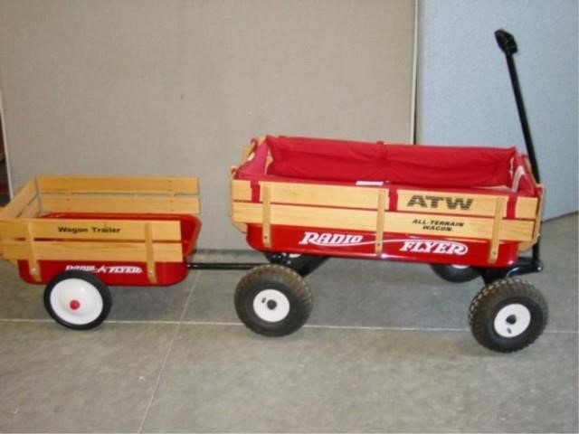 Radio Flyer All Terrain Wagon Rare