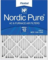 6 PIECES NORDIC PURE AC& FURNACE AIR FILTERS