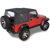 QUADRATOP REPLACEMENT SOFT TOP WITH CLEAR
