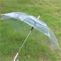 2 PIECES TRANSPARENT RAIN UMBRELLA