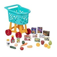 BATTAT GROCERY CART ONLY (TOYS NOT INCLUDED)