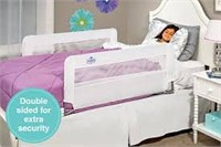 EASY DOUBLE SIDED SWING DOWN BED RAIL