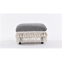 JT DECORATIVE FOOTSTOOL