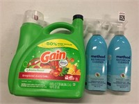 ASSORTED CLEANING ITEMS