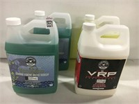 ASSORTED CHEMICAL GUYS CLEANERS