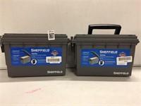 SHEFFIELD FIELD BOX 2 PIECES
