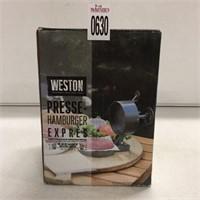 WESTON PRESSE-HAMBURGER PRESS