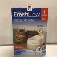 FRESH FLOW PURIFYING PET FOUNTAIN
