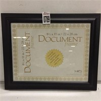 PICTURE/DOCUMENT FRAME SIZE 8.5X11""