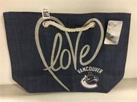 NHL ROPE TOTE VANCOUVER CANUCKS SHOULDER BAG