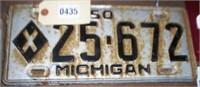 2011-10-29 John West License Plates (Lennon, MI)