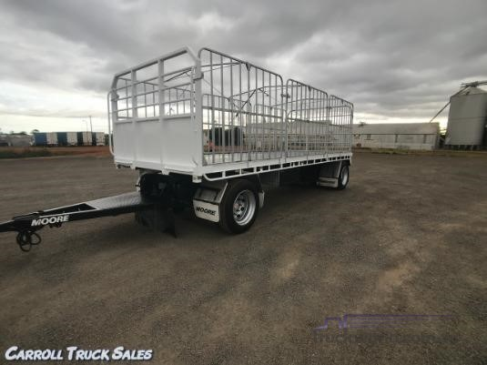 2014 Moore Flat Top Trailer Carroll Truck Sales Queensland - Trailers for Sale