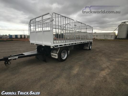 2014 Moore Flat Top Trailer Carroll Truck Sales Queensland - Trailers for Sale