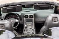 2006 Chevrolet C6 Corvette Convertible Sports Car