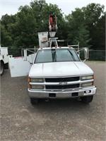 1998 Chevrolet 3500 Lift-All Bucket Truck