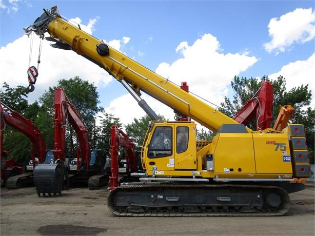 GROVE Telescopic Boom Crawler Cranes For Sale - 16 Listings