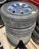 Jeep Rim With Tire