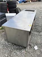 8ft Stainless Steel Commercial Prep Table