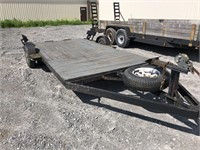 Single Axle 14ft Low Profile Trailer With Newer