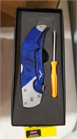 Blue Rhino Pocket Knife