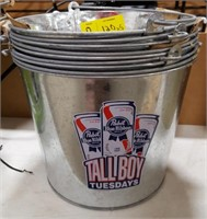 Pabst Blue Ribbon Tall Boy Tuesdays Ice Bucket
