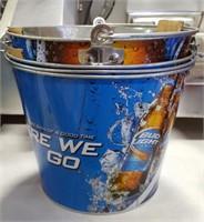 "Bud Light ""Here We Go"" Beer Ice Bucket"