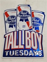 Pabst Blue Ribbon Tall Boy Tuesdays Tin