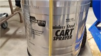 Chapin Stainless Steel Cart Sprayer