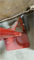Red 2 Wheel Dolly.  Loose wheels