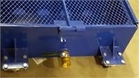 Equipment Oil Drain Pan on Wheels