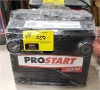 Prostart battery 650 cold cranking amps 810