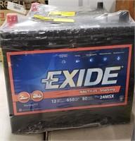 Exide battery 650 cranking amps
