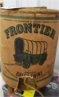 Vintage Frontier knotless baler twine.