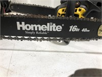 Homelite 16in 40cm Chainsaw